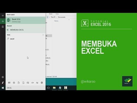 tutorial-excel-2016-|-1---open-excel---membuka-excel
