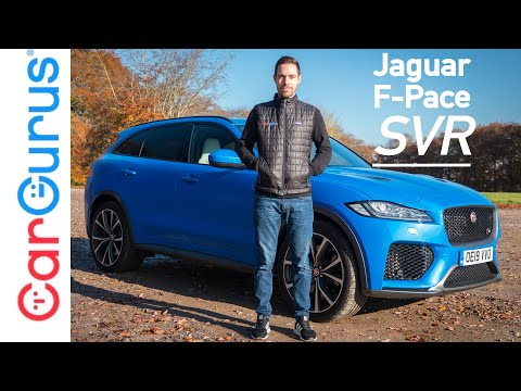 Jaguar F-Pace SVR (2019) Review: An SUV with the heart of a supercar | CarGurus UK