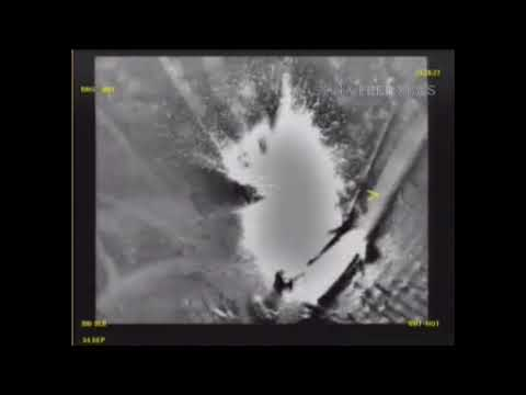 RuAF strikes against ISIS position in Syria. Deleted video 1