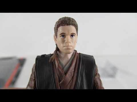 HD Anakin Skywalker Black Series 3.75 Scale Action Figure Unboxing