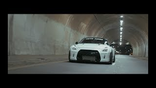 Widebody Nissan GTR VS Downtown LA | Liberty Walk | [4K]
