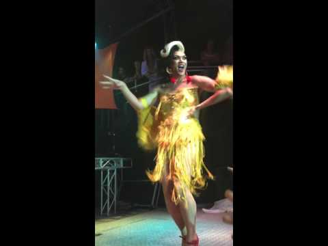 Manila Luzon Performing Real Woman at Festa Biba