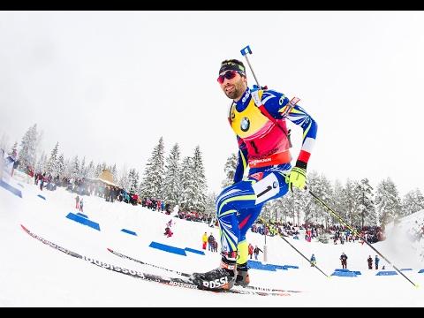 Martin Fourcade - Poursuite 12,5KM (Oslo 2016)
