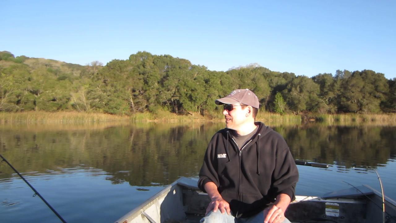 Lafayette 3 12 17 youtube for Lafayette reservoir fishing report