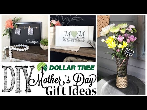 DIY Dollar Tree Mother's Day Gift Ideas | 3 PROJECTS!