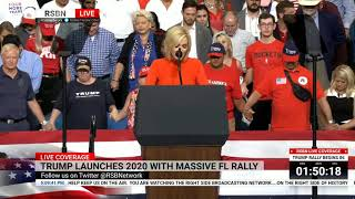 ???? WATCH: Pastor Paula White Delivers Opening Prayer at President Trump's Reelection Rally