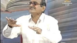 Dr G Krishnappa Interview in DD Chandana