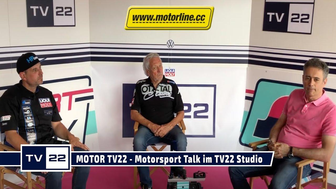 MOTOR TV22: Motorsport Talk mit Karl Wendlinger, Mario Kuprian und Franz Thurner