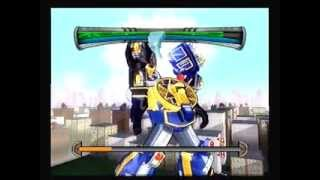 Power Rangers: Super Legends PS2 Game - Ninja Storm 3 - ThunderStorm Megazord
