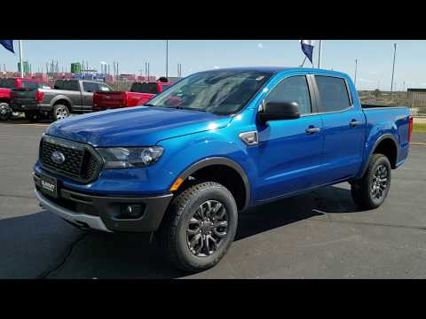 19F283 ALL NEW 2019 FORD RANGER LIGHTNING BLUE 4X4 WALK AROUND REVIEWwww.SUMMITAUTO.com