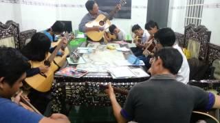 Lớp học Guitar 1 tháng tại Sóng Nhạc Long An