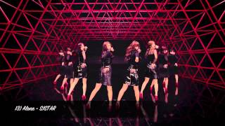 Top 100 K-Pop Songs of 2012: 25-1