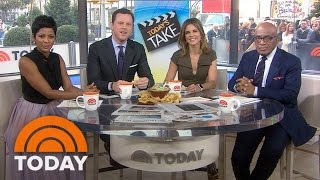 Jeffrey Tambor On Second Golden Globe Nom, Stealing From TODAY Set | TODAY