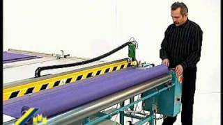 Sani Usa .com Roller Shade And Sheer Auto Cutting Table   Magnum Svp1 Rotary Cutter With Ultrasonic