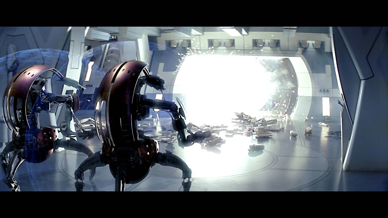 star wars episode i quigon amp obiwan using force speed to