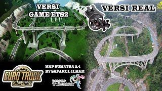 Euro Truck Simulator 2 | Trip To Kelok Sembilan Naik Bus Tronton Bintang Utara Mp3