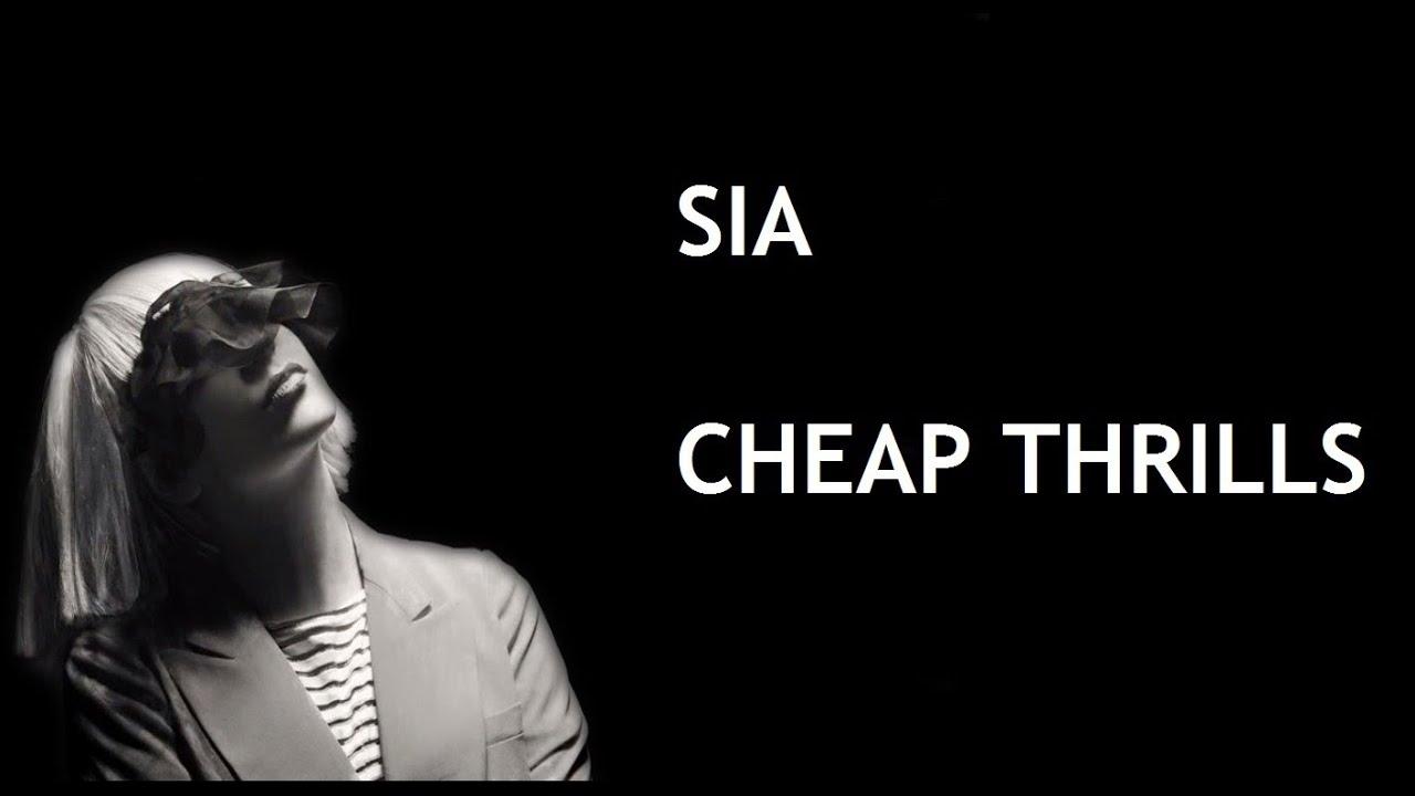 Sia - Cheap Thrills (Lyrics) HQ - YouTube