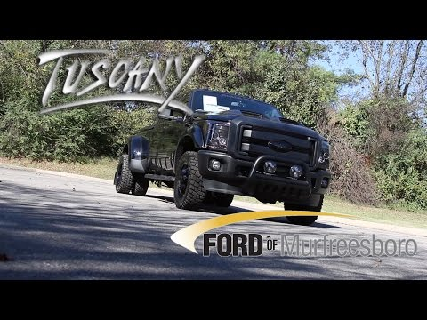 2016 Ford Super Duty F-350 DRW F350 Black Ops By Tuscany