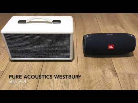 Jbl Xtreme vs Pure Acoustics Westbury Soundcheck