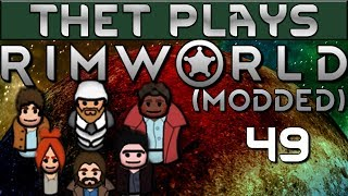 Thet Plays Rimworld 1.0 Part 49 Kitchen Expansion Modded