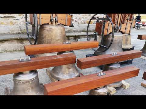 Regresan a Ponferrada las campanas restauradas de la Basílica de la Encina