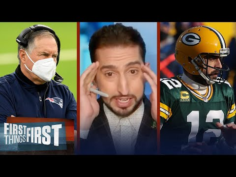 Aaron Rodgers in New England is the most ridiculous idea I've heard —Nick | NFL | FIRST THINGS FIRST