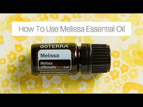 how-to-use-melissa-essential-oil