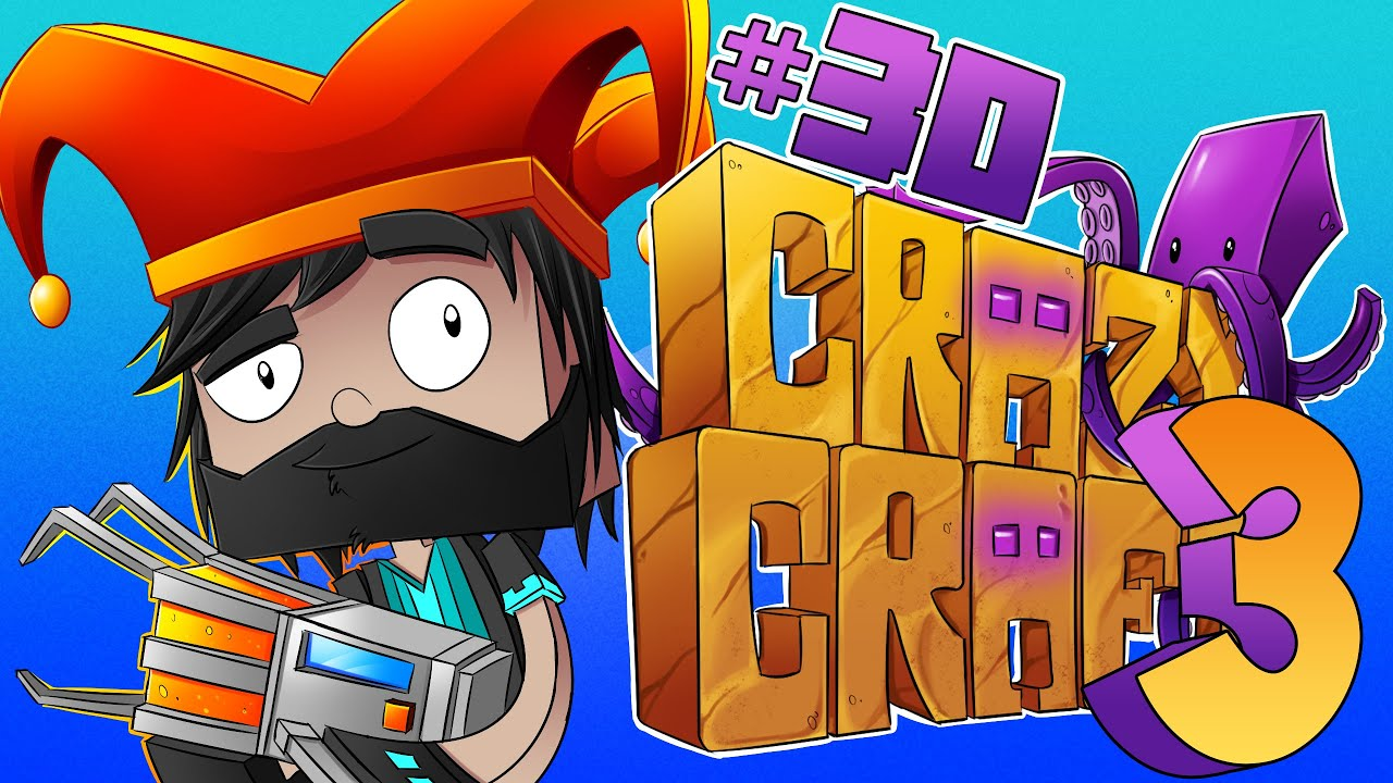 FIGHTING THE ENDER DRAGON!!! [#30] | Minecraft Crazy Craft 3.0