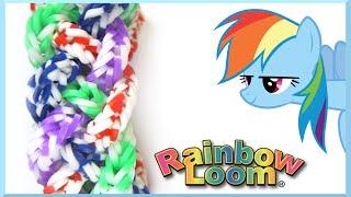 Как делать браслеты из резинок RAINBOW LOOM