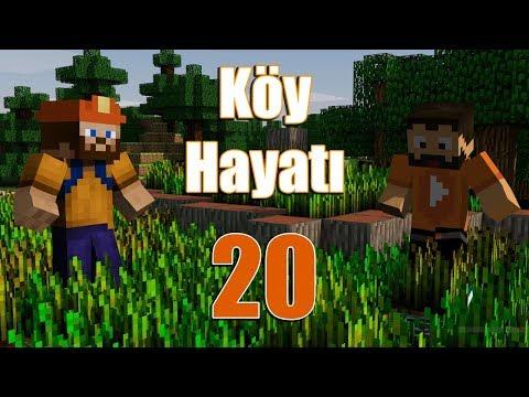 Minecraft Köy Hayatı - İnşaat - Bölüm 20