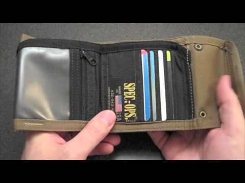 Spec Ops T.H.E. Wallet Jr.: Tactical Cash Keeper