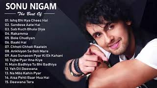 Best Of Sonu Nigam - Hit Romantic Album Songs - Evergreen Hindi Songs of Sonu Nigam | JUKEBOX