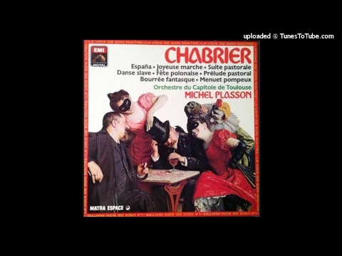Emmanuel Chabrier : Pièces pittoresques (1880-81), arranged for orchestra