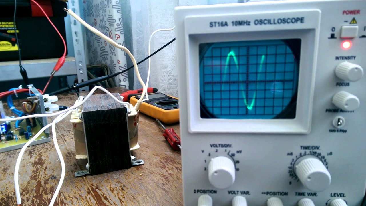 Pure Sine Wave Inverter: 8 Steps