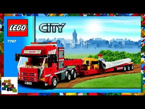 Lego Instructions City Traffic 7747 Wind Turbine Transport