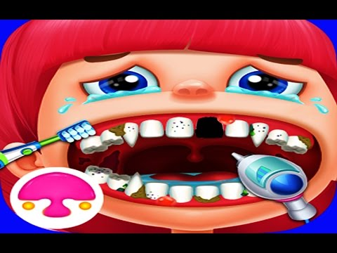 Crazy Dentist - best iPad Android app for kids. Fun games