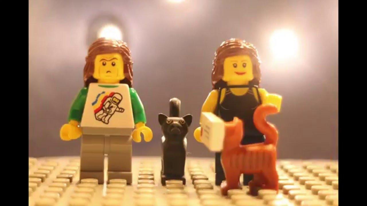 LEGO Christmas Card 2015 - Cat Vs Christmas - YouTube
