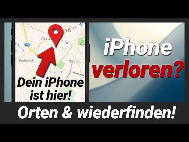 iPhone verloren oder es wurde gestohlen? So bekommst du es zurück! iPhone orten & wiederfinden!
