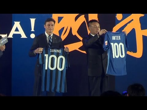 Chinese Retail Giant Suning Buys Majority Stake In Inter Milan