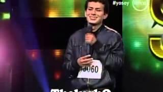 Yo Soy 05-06-13 Casting ADRIAN BARILARI Sorprende al Jurado con su Voz [Yo Soy 2013] 05-06-2013