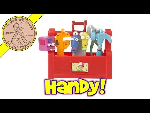Fisher-Price Disney Handy Manny's Talking Tool Box Music Toy Kids Toy Reviews