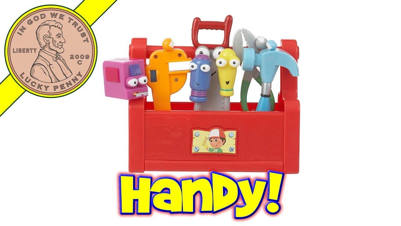 Fisher-Price Disney Handy Manny's Talking Tool Box Music Toy Kids Toy Reviews - YouTube