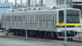 【東武20400系 10編成目 20440番台 21442F 南栗橋入場】東武30000系 31609Fは6両単独留置。31606F+31406Fは運用に入らず。