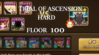 summoners war toa hard 100   ath taros   with just another gamer   summons