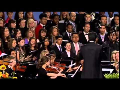 GYC 2013 - You Alone are God (GYC Choir & Orchestra)
