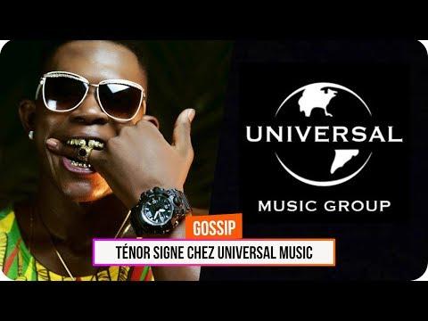 Ténor signe chez Universal Music