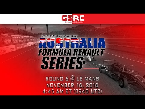 IDA Australia Formula Renault Series - 2016 Round 6 - Le Mans