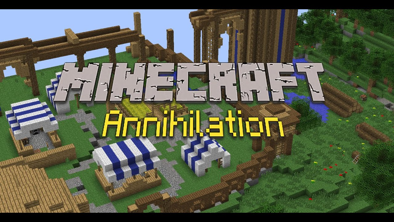 Скачать сервер minecraft annihilation