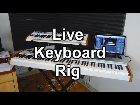 Tour of My Keyboard Live Rig (Mainstage 3, Arturia Keylab 88, Macbook Pro)