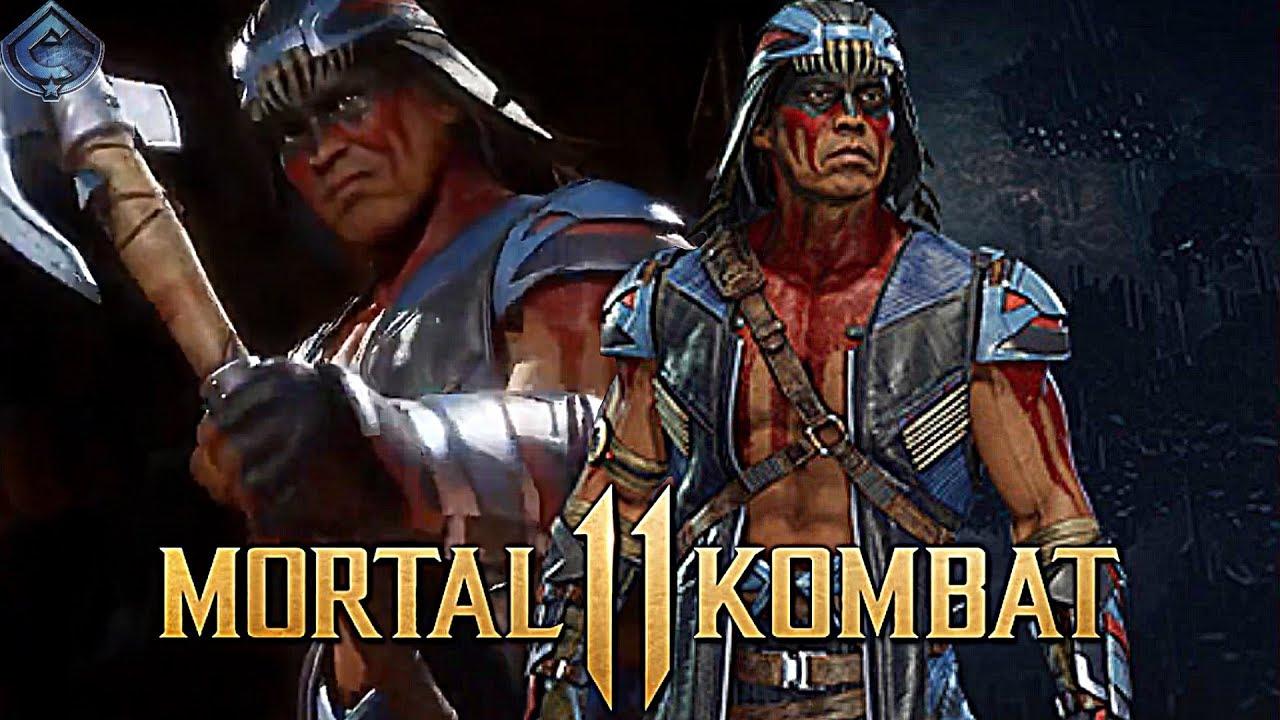 Mortal Kombat 11 - Nightwolf Release Date and Full Look Leaked!